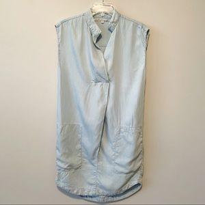 RACHEL Rachel Roy Chambray Pocket Dress Size Med